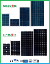 High Efficiency Crystalline Silicon Solar Panel much better than amorphous material