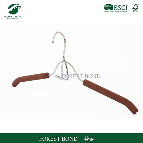 Made in china hot sell foam covered metal hanger