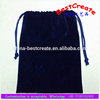 Hot sale stretch plain royal blue velvet fabric bags for dresses