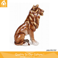 Chinese Factory Antiquing Carving Lion Egyptian Statues For Sale