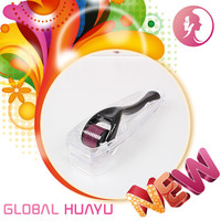 build healthy skin GHY Beauty skin rejuventation erma roller micro needle derma roller