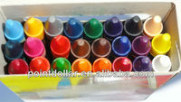 Crayon, Wax Crayons, Oil Painting for Kids, Different colors for choose