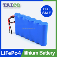 12v 24Ah rechargeable lithium ion battery (Lifepo4)
