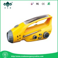 LED emergency camping lantern,bright led lighting,solar rechargeable led light hand crank dynamo radio flashlight
