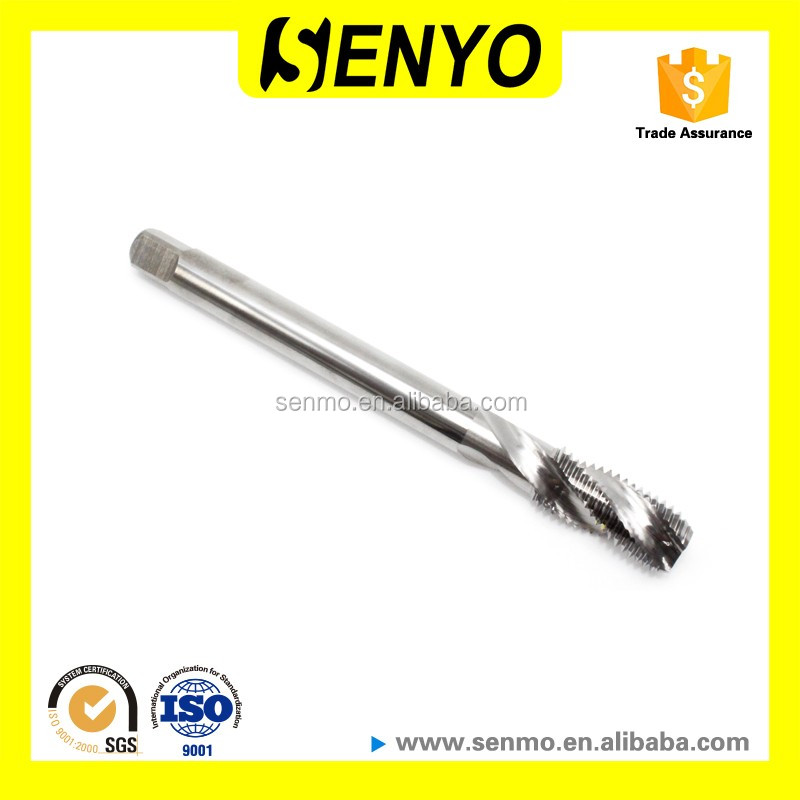 Senyo Solid Carbide Valve Thread Taps Cutting Tools