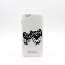 Owl Painted Protect Phone Case For Cubot Note S