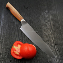 Hot sales stainless carbon steel 3Cr13/Japan 420j2/Germany 1.4116 knife set kitchen knife with Acacia wood handle