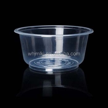 700ml 22oz Round Disposable 1 Compartment Food Container