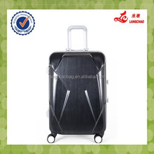 Wheels suitcases aluminium trolley luggage fittings 100% PC Trolley Luggage