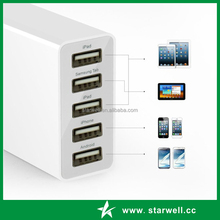 multi port usb travel charger