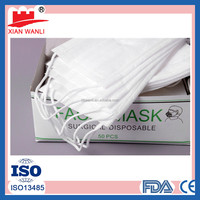Nonwoven Disposable Face Mask With Earloop