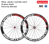 Wholesale 700c full carbon Road bicycle wheels 50mm Clincher wheels with 20.5mm width