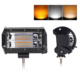 E-mark 5 Inch 72W Auto Led Strobe Flashlight Amber Offroad Truck ATV Car 12V Wholesale 4x4 Mini Led Light Bar