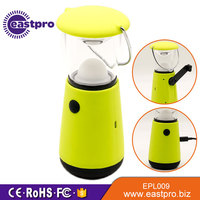 Timely Service USB Charging Port Wind Up Dynamo Lantern SMD LED 60 lumens best camping light self