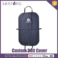 Transparent Suit Cover Waterproof Suit / Garment Cover Bag