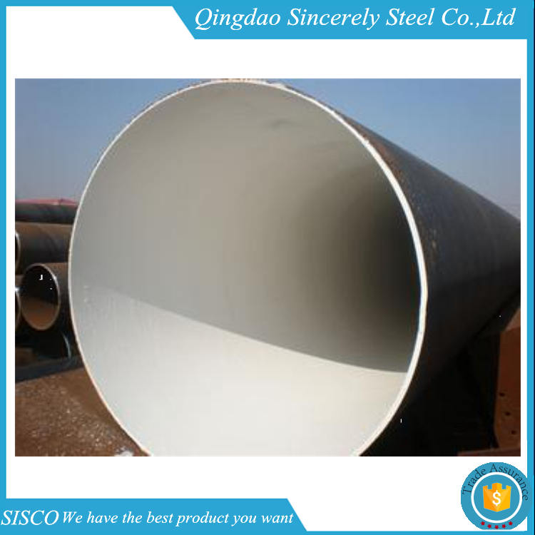 Prime quality galvanized astm a513 saw steel pipe
