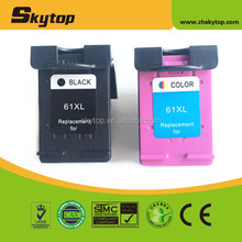 Skytop remanufactured for hp 61xl ink cartridge for hp 61xl manufactures