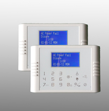 Kingeye flagship product LCD touch screen backup battery ultrasonic sensor for alarm system with arm delay function