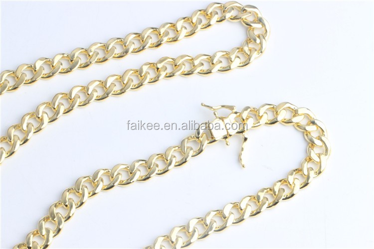 "Hot sales hip hop cuban chains 925 sterling silver mens bracelet necklace 8.5"" 24""32""34"""