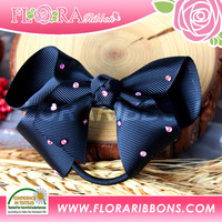 Favorable School Girl Hair Band Ponytail Holder by RIbbon Bow