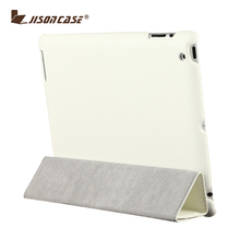 Hot Selling Magnetic Smart Cover For iPad 4 Stand Holder pu leather cover case for ipad 4