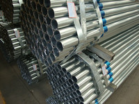 High Quality Mild ERW hot dip galvanized steel water pipe