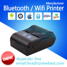Portable mini thermal printer mobile bluetooth printer for restaurant food delivery Transportation