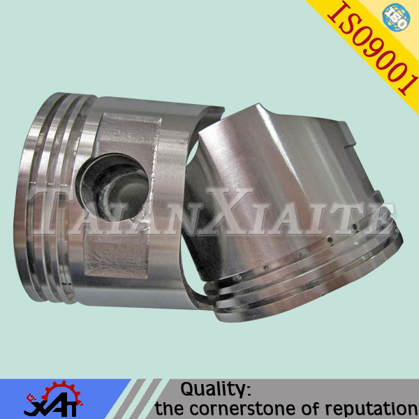 auto spare parts cast aluminum part truck piston