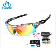 INBIKE Best Designer Sports Racing Teenagers Unisex Sunglasses With Optical Insert Lens
