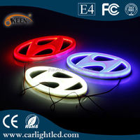 Wholesale 4D Lighted Car Emblem With Led Bulb