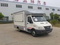 Good quality Iveco mobile cooking truck for kitchen work