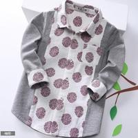 China manufacturer kids clothes top free new pattern boys shirts