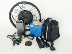 80kph 5kw road bike kit 140N.M 48V - 72V