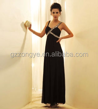 rhinestone long evening prom dress, sleeveless party dress