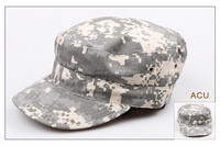 Distressed Washed Cotton Cadet Army Cap