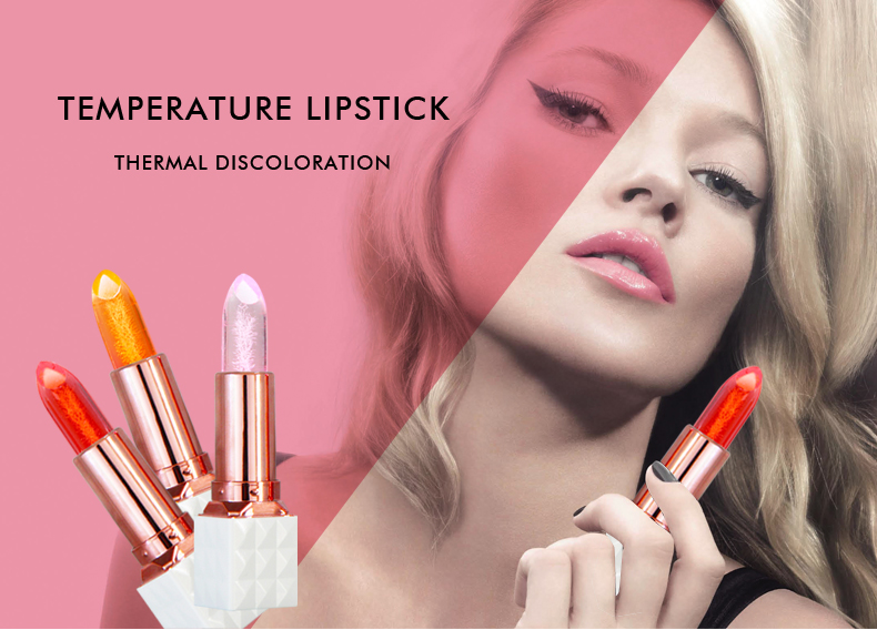 2018 jelly flower lipstick jelly lipstick no logo changed color lipstick