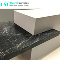 Black Carrara Artificial Engineered Stone for Table Top