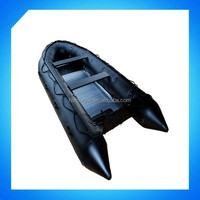 2015 4.3m Aluminum Floor Inflatable Rescue boat/sport boat/Fishing boat