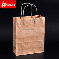 Brown Kraft Twisted Handle Large Paper Carrier Bags