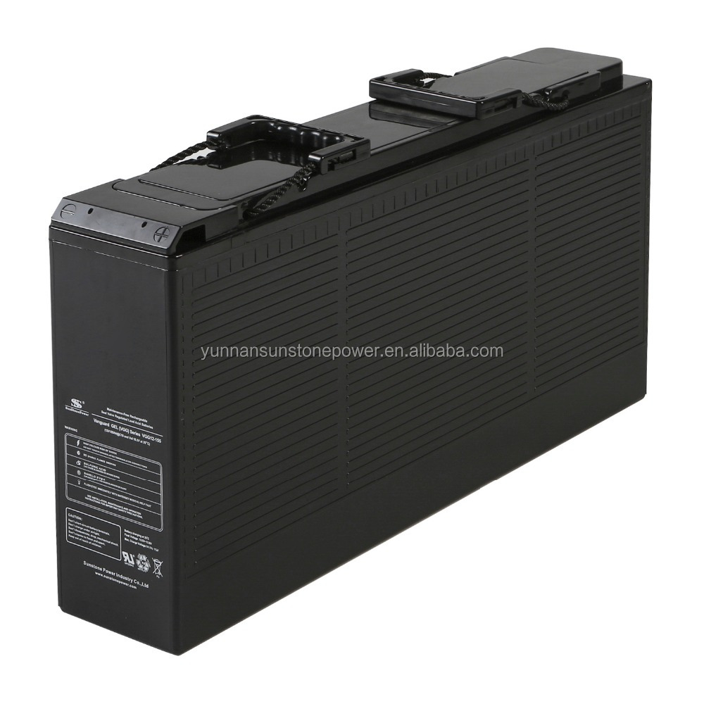 Sunstone Original Producing Front Terminal Solar Battery 12V 150AH Deep Cycle Battery AGM /GEL Battery For Solar & Wind System