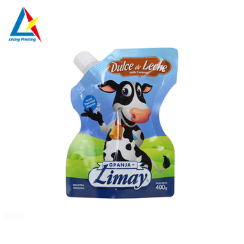 factory price wholesale dry laminated plastic milk packing bag