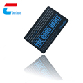 13.56RF PVC rfid Blocking Card