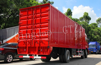 3 Axle Box /Dry Food Transport Van Trucks