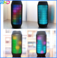 supper bass portable wireless coloful led light bluetooth speaker Factory Manufacturer With FM radio Digital display
