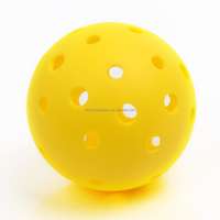 40 Hole LDPE Pickleballs Outdoor Customized