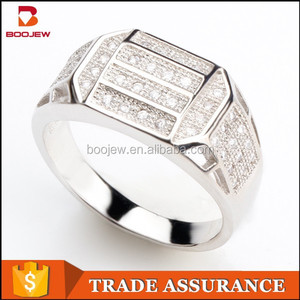 Popular Rhodium Plated Brass Zircon Fashion Jewelry Hong Kong,925 sterling rings
