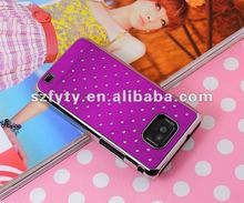 2012 hot sale jeweled cell phone case for Samsung i9100