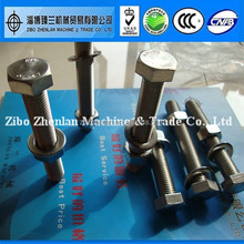 Stainless steel a4 80 m8 bolt dimensions / bolt and nut supplier