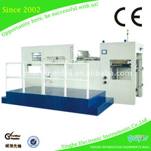 Wood Working Plastic Paper Film flatbed die cut machine for paper carton