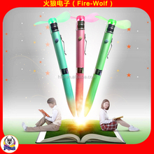 New Terms Student's Pen Semester Back to School Wholsalers Fan Pen 2016 China Manufacturer